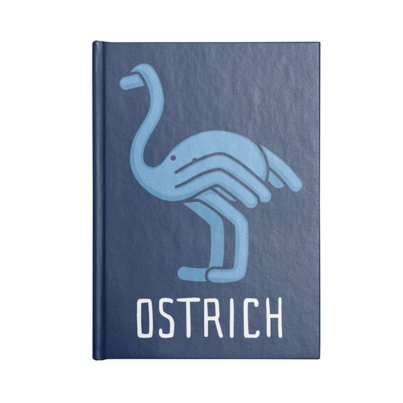 Ostrich (Not an Octopus) Accessories Notebook by Gyledesigns' Artist Shop