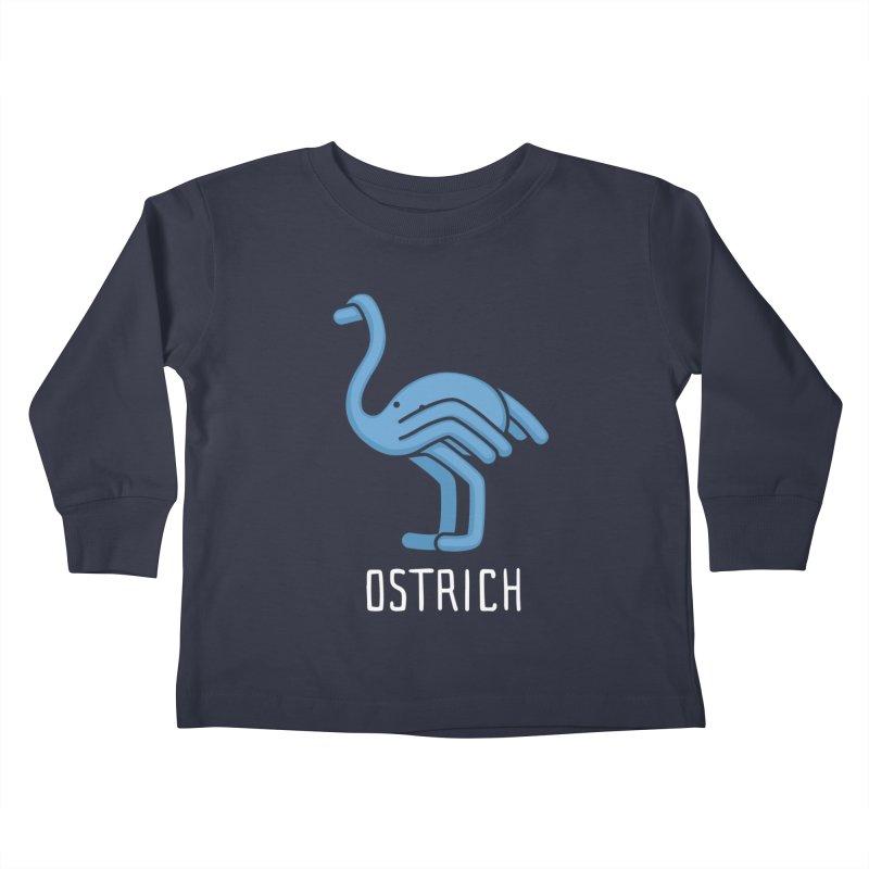 Ostrich (Not an Octopus) Kids Toddler Longsleeve T-Shirt by Gyledesigns' Artist Shop