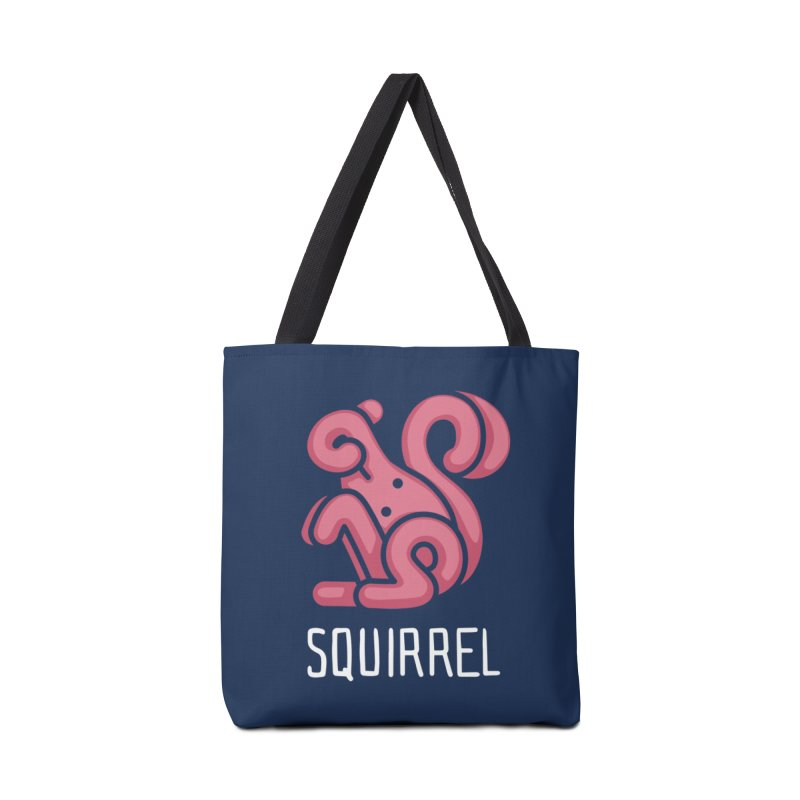 Squirrel (Not an Octopus) Accessories Bag by Gyledesigns' Artist Shop
