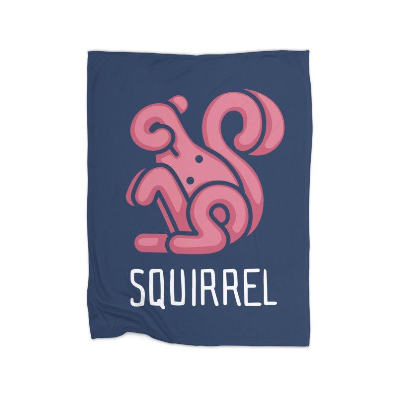 Squirrel (Not an Octopus) Home Blanket by Gyledesigns' Artist Shop
