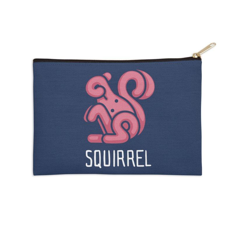 Squirrel (Not an Octopus) Accessories Zip Pouch by Gyledesigns' Artist Shop