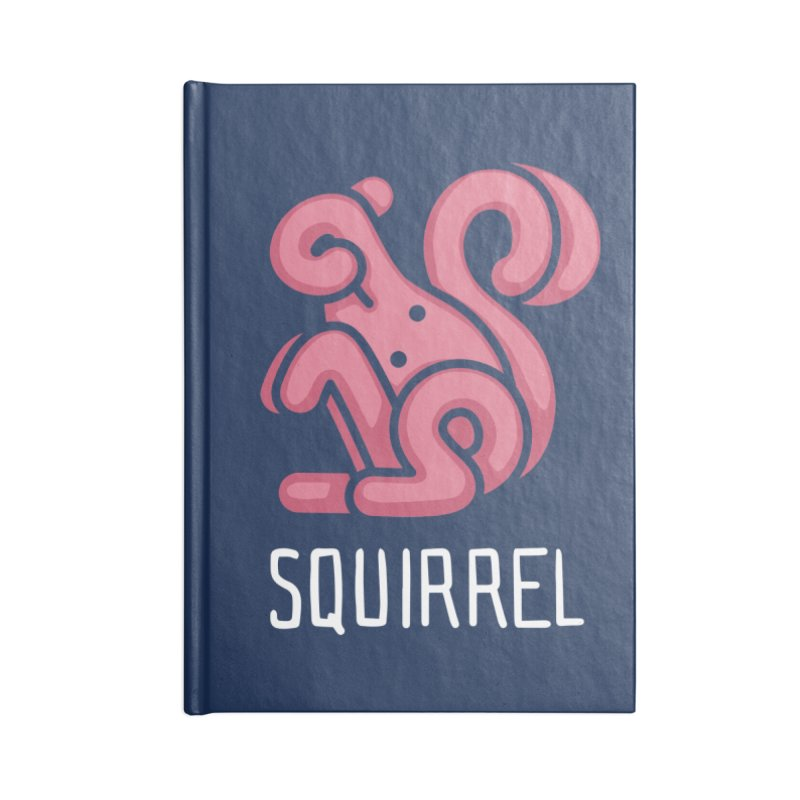 Squirrel (Not an Octopus) Accessories Notebook by Gyledesigns' Artist Shop
