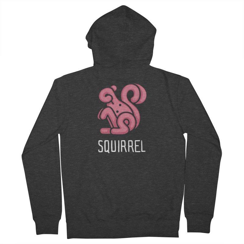 Squirrel (Not an Octopus) Men's Zip-Up Hoody by Gyledesigns' Artist Shop