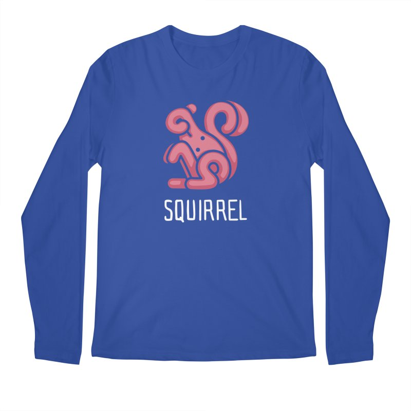 Squirrel (Not an Octopus) Men's Longsleeve T-Shirt by Gyledesigns' Artist Shop