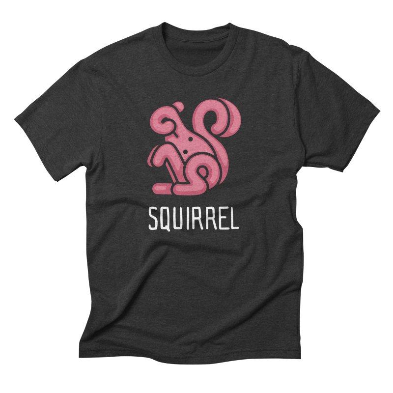 Squirrel (Not an Octopus) Men's Triblend T-shirt by Gyledesigns' Artist Shop