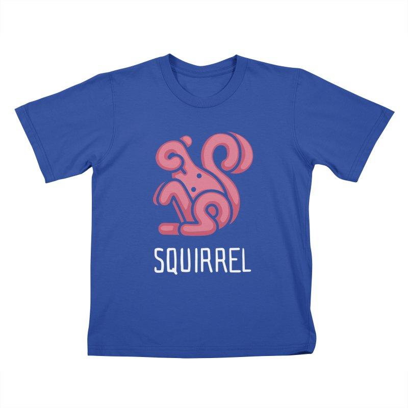 Squirrel (Not an Octopus) Kids T-shirt by Gyledesigns' Artist Shop