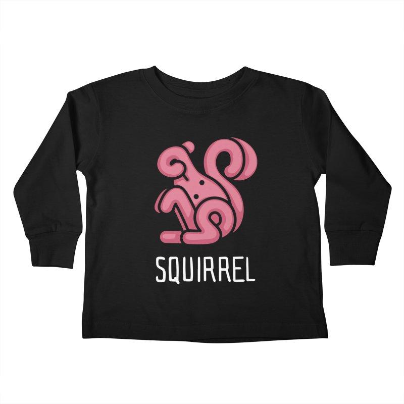 Squirrel (Not an Octopus) Kids Toddler Longsleeve T-Shirt by Gyledesigns' Artist Shop