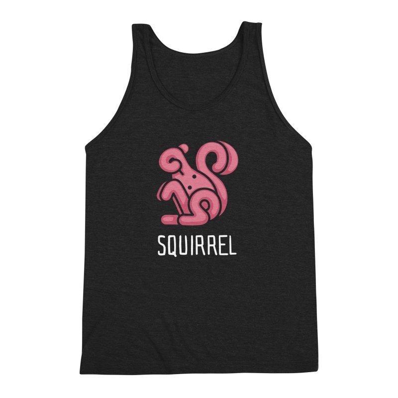 Squirrel (Not an Octopus) Men's Triblend Tank by Gyledesigns' Artist Shop