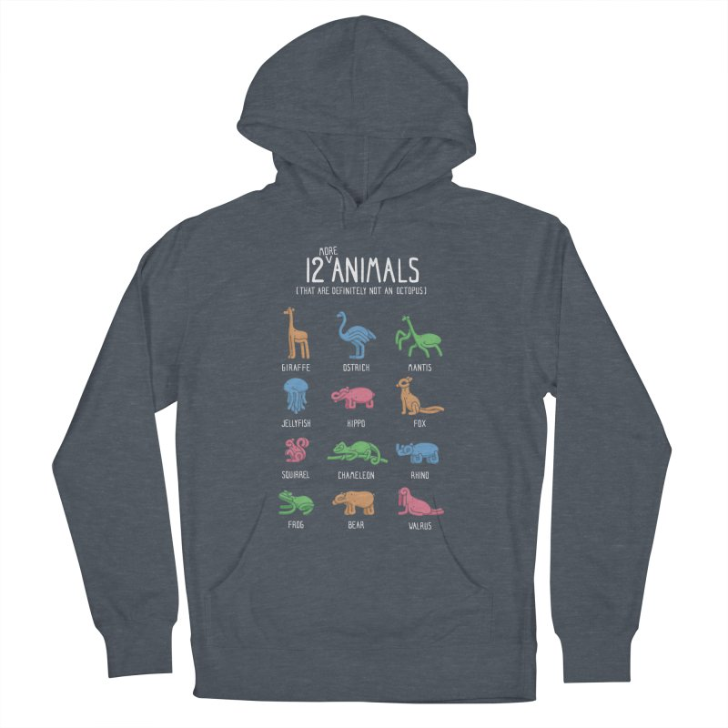 12 MORE Animals (That are Definitely Not an Octopus) Women's French Terry Pullover Hoody by Gyledesigns' Artist Shop