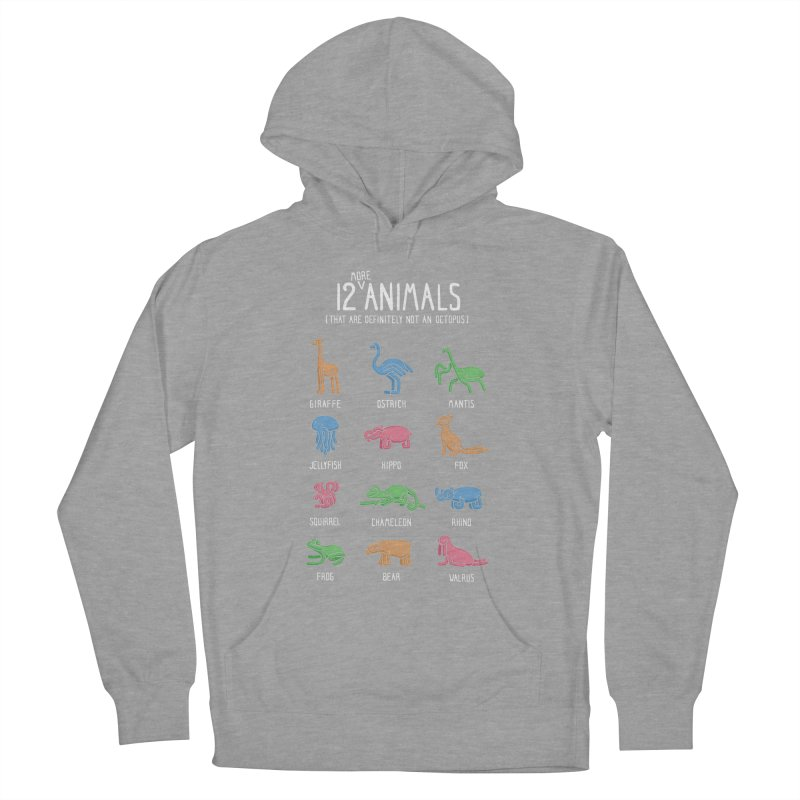 12 MORE Animals (That are Definitely Not an Octopus) Men's French Terry Pullover Hoody by Gyledesigns' Artist Shop
