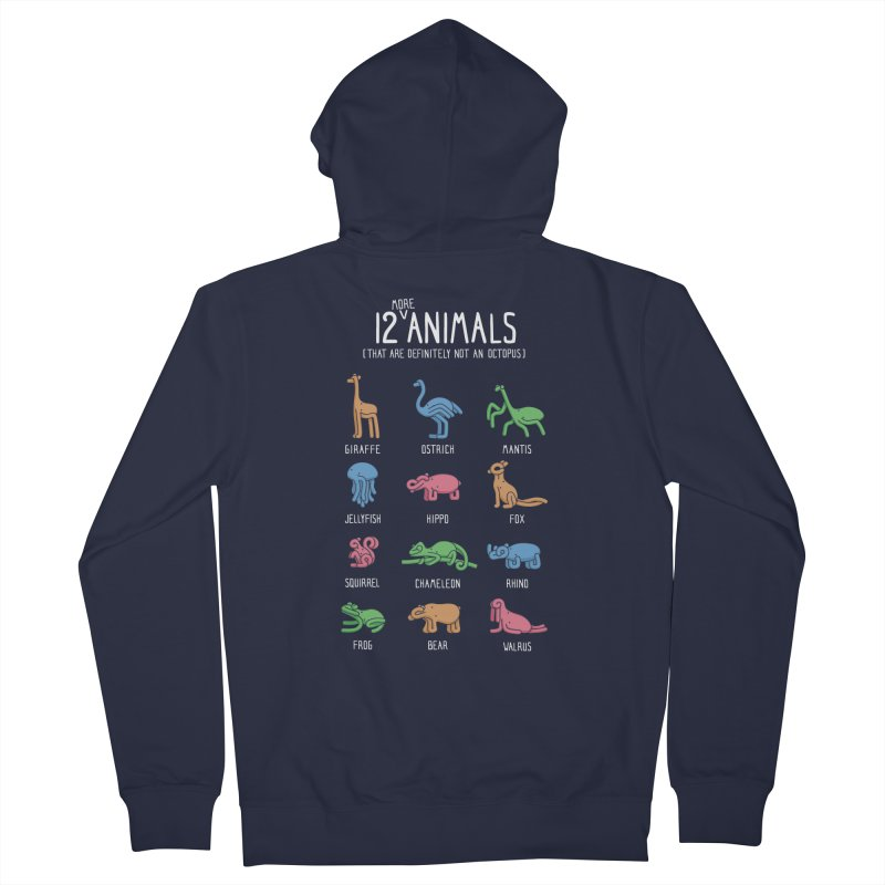 12 MORE Animals (That are Definitely Not an Octopus) Women's French Terry Zip-Up Hoody by Gyledesigns' Artist Shop