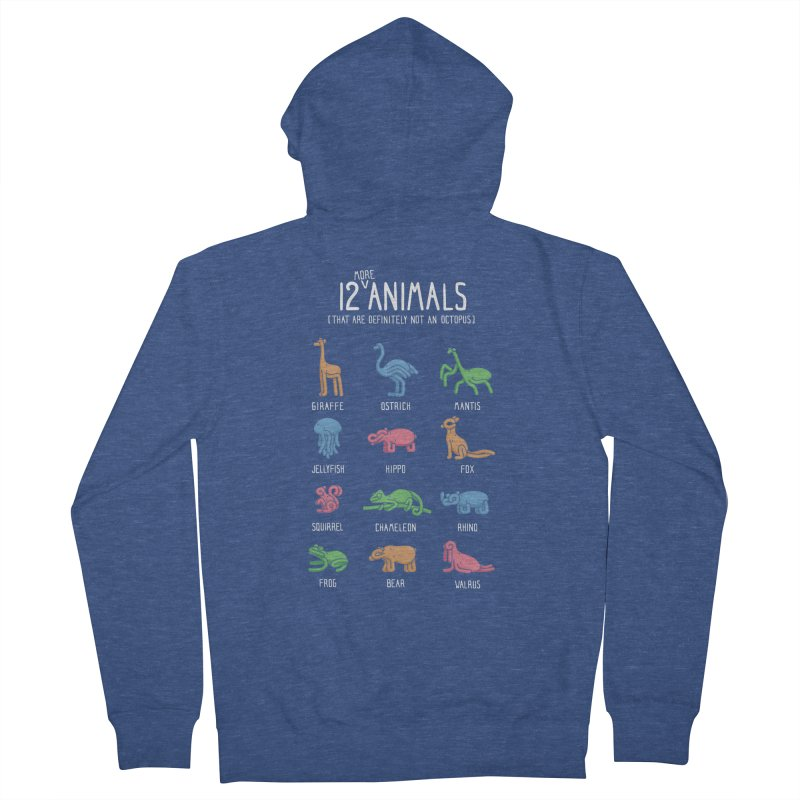 12 MORE Animals (That are Definitely Not an Octopus) Men's Zip-Up Hoody by Gyledesigns' Artist Shop