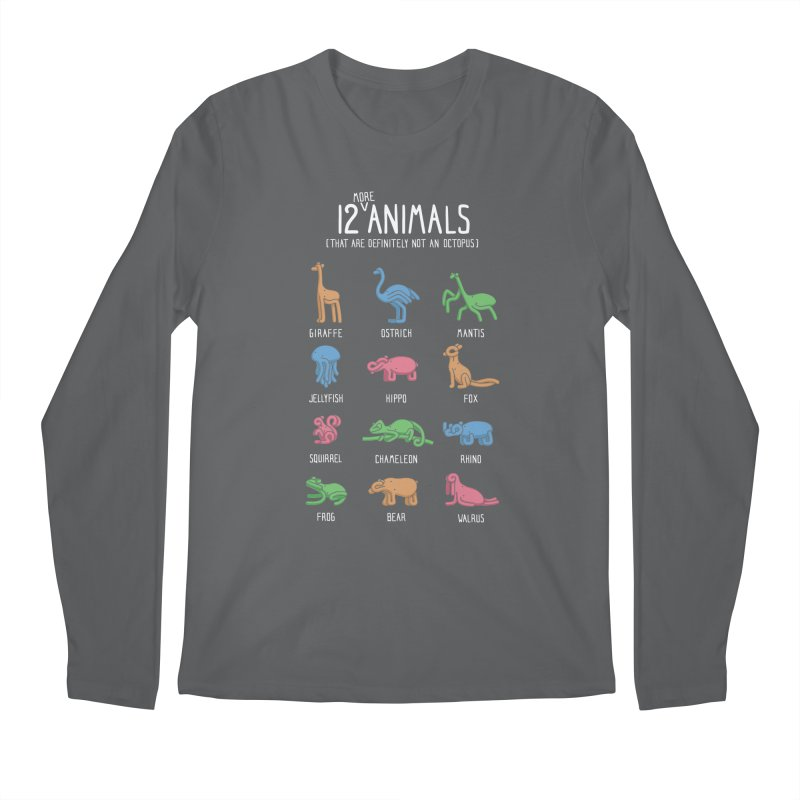 12 MORE Animals (That are Definitely Not an Octopus) Men's Regular Longsleeve T-Shirt by Gyledesigns' Artist Shop