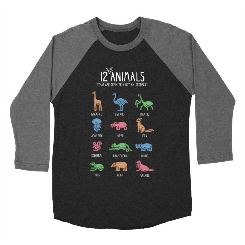 12 MORE Animals (That are Definitely Not an Octopus) Women's Baseball Triblend Longsleeve T-Shirt by Gyledesigns' Artist Shop