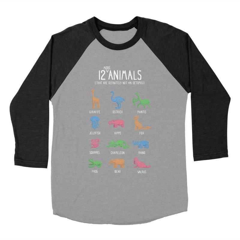 12 MORE Animals (That are Definitely Not an Octopus) Women's Baseball Triblend Longsleeve T-Shirt by Gyledesigns' Artist Shop