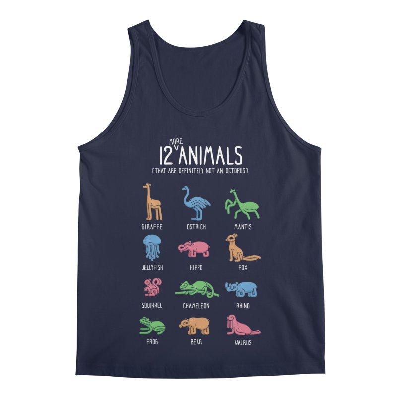 12 MORE Animals (That are Definitely Not an Octopus) Men's Regular Tank by Gyledesigns' Artist Shop