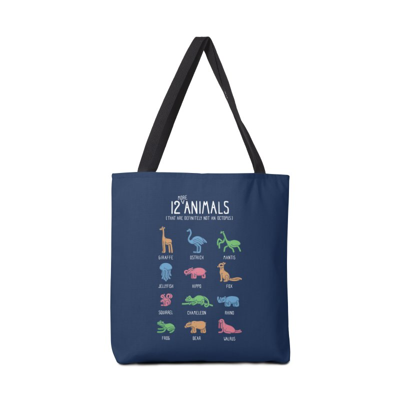 12 MORE Animals (That are Definitely Not an Octopus) Accessories Bag by Gyledesigns' Artist Shop