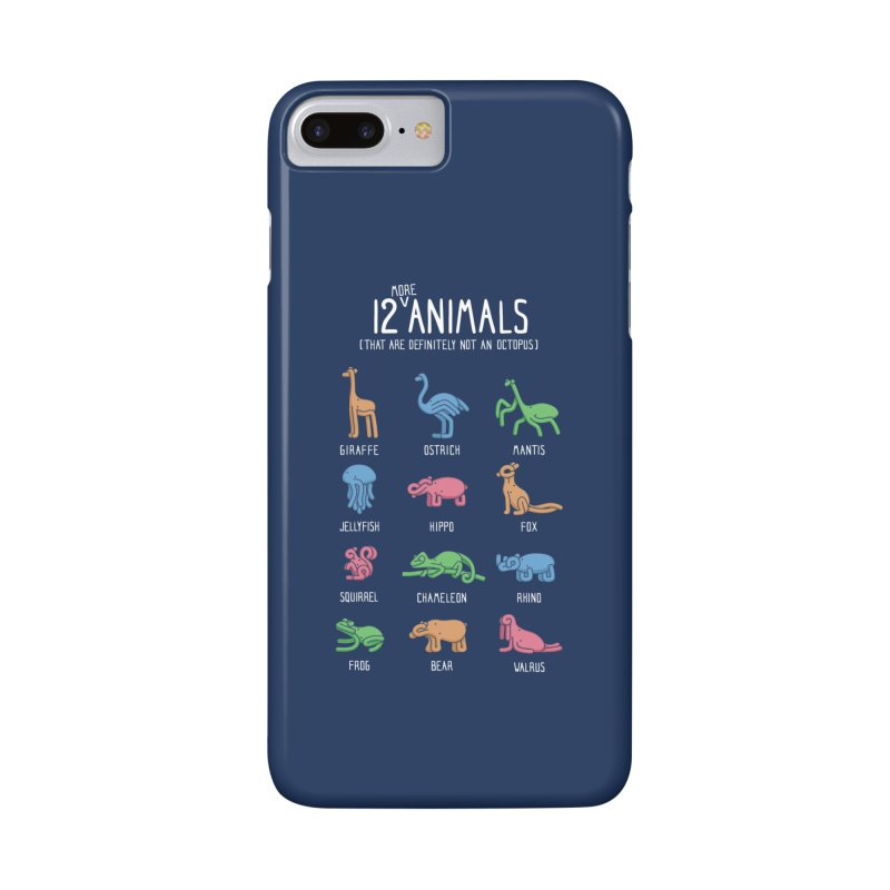 12 MORE Animals (That are Definitely Not an Octopus) Accessories Phone Case by Gyledesigns' Artist Shop