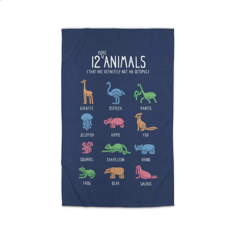 12 MORE Animals (That are Definitely Not an Octopus) Home Rug by Gyledesigns' Artist Shop