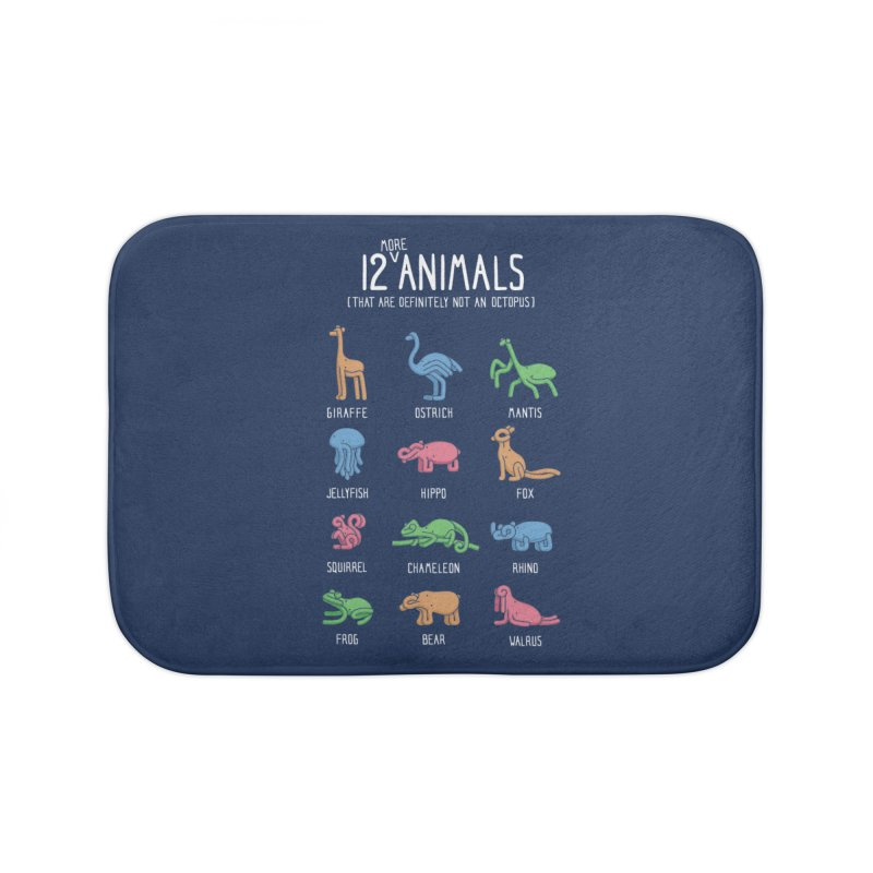 12 MORE Animals (That are Definitely Not an Octopus) Home Bath Mat by Gyledesigns' Artist Shop