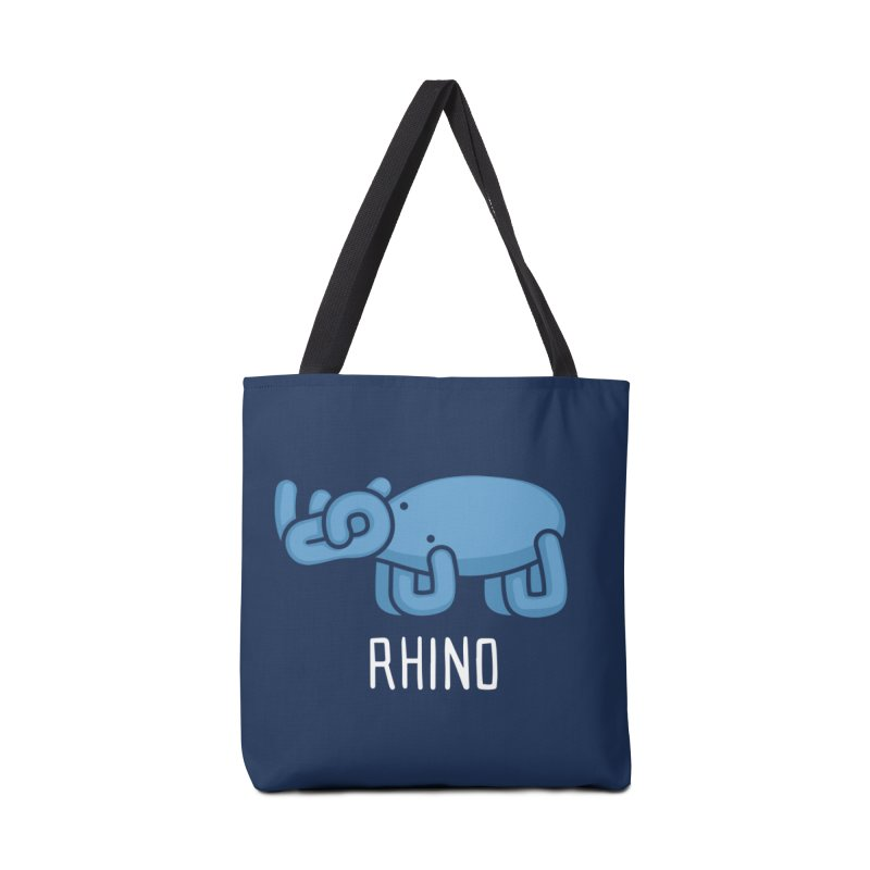 Rhino (Not an Octopus) Accessories Bag by Gyledesigns' Artist Shop
