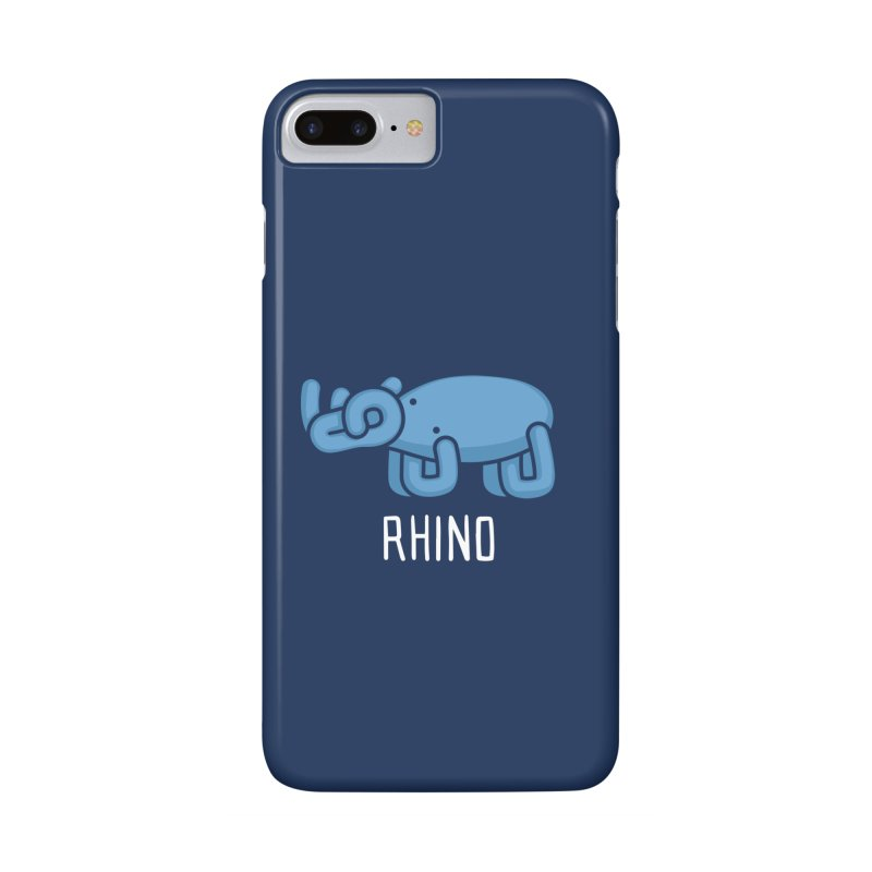 Rhino (Not an Octopus) Accessories Phone Case by Gyledesigns' Artist Shop