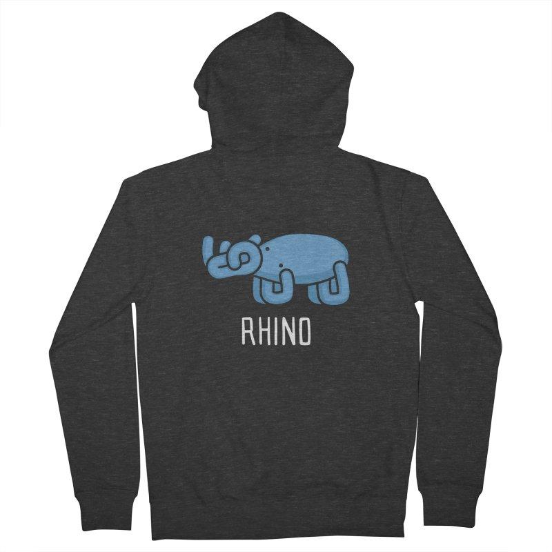 Rhino (Not an Octopus) Women's Zip-Up Hoody by Gyledesigns' Artist Shop