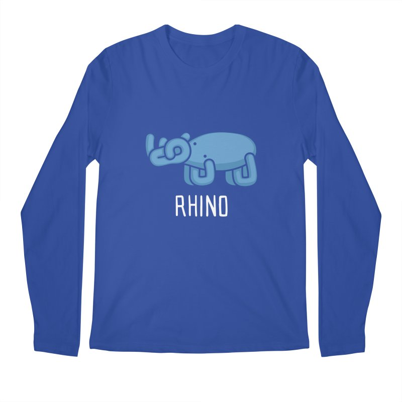 Rhino (Not an Octopus) Men's Longsleeve T-Shirt by Gyledesigns' Artist Shop