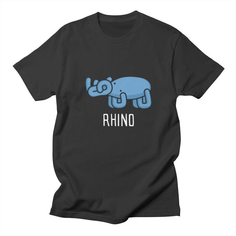 Rhino (Not an Octopus) Men's T-shirt by Gyledesigns' Artist Shop