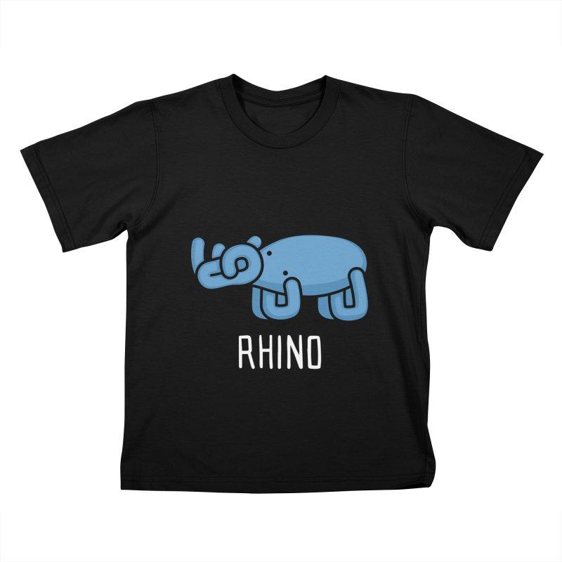 Rhino (Not an Octopus) Kids T-shirt by Gyledesigns' Artist Shop