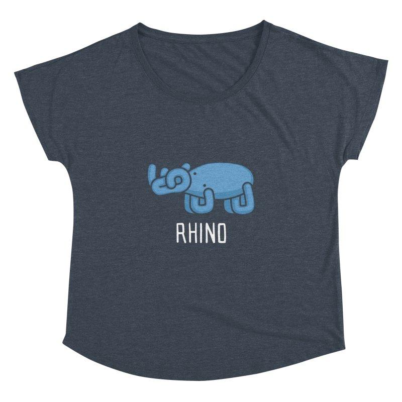 Rhino (Not an Octopus) Women's Dolman by Gyledesigns' Artist Shop
