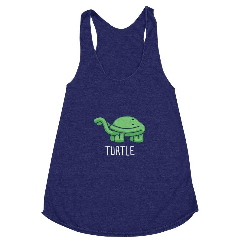 Turtle (Not an Octopus) Women's Racerback Triblend Tank by Gyledesigns' Artist Shop