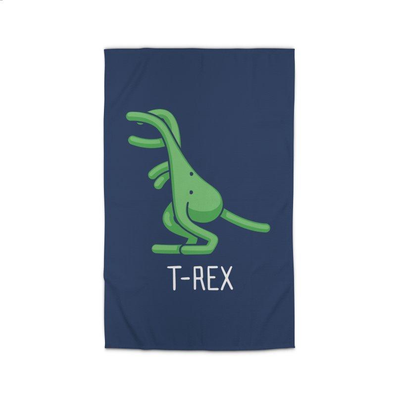 T-Rex (Not an Octopus) Home Rug by Gyledesigns' Artist Shop
