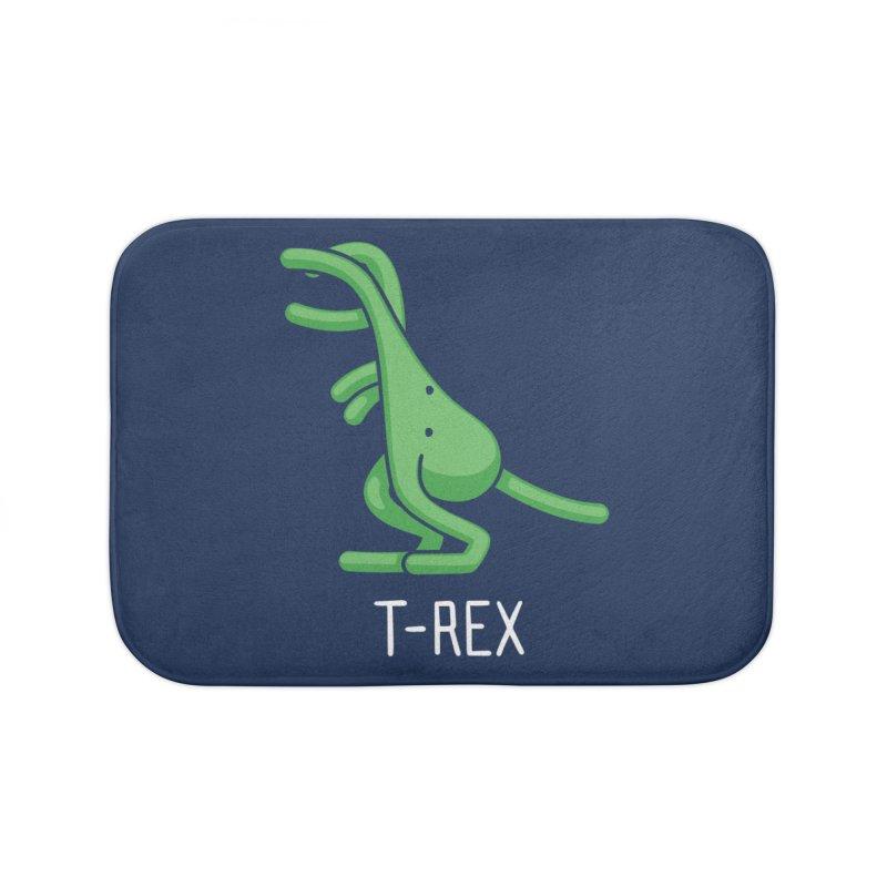 T-Rex (Not an Octopus) Home Bath Mat by Gyledesigns' Artist Shop