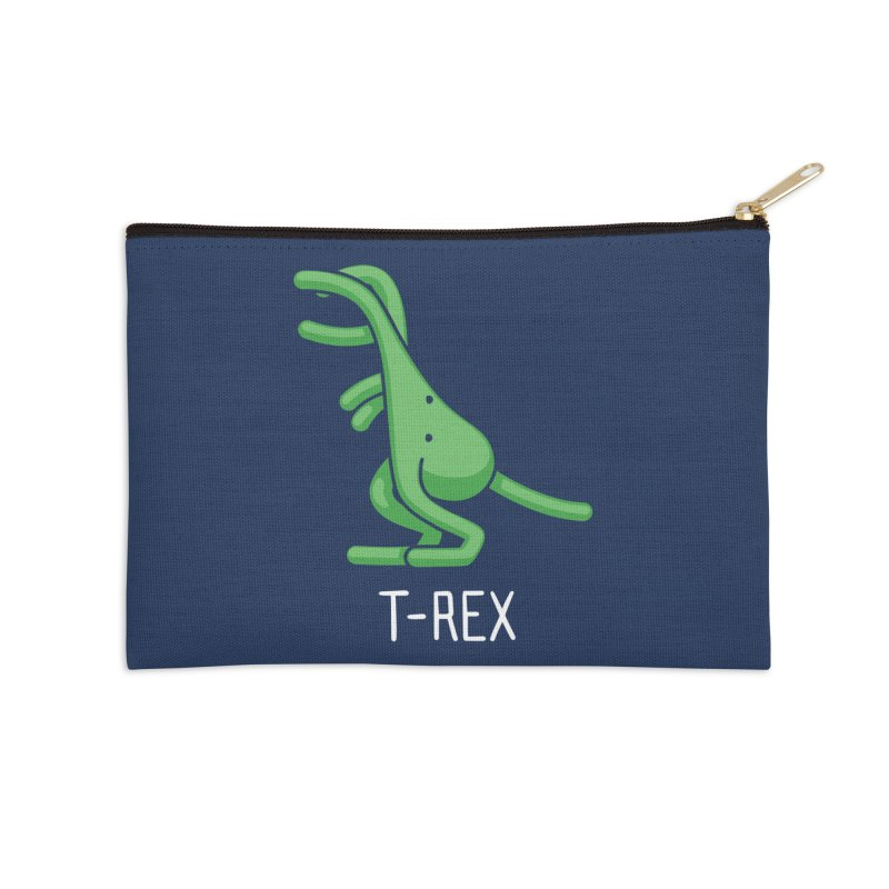 T-Rex (Not an Octopus) Accessories Zip Pouch by Gyledesigns' Artist Shop