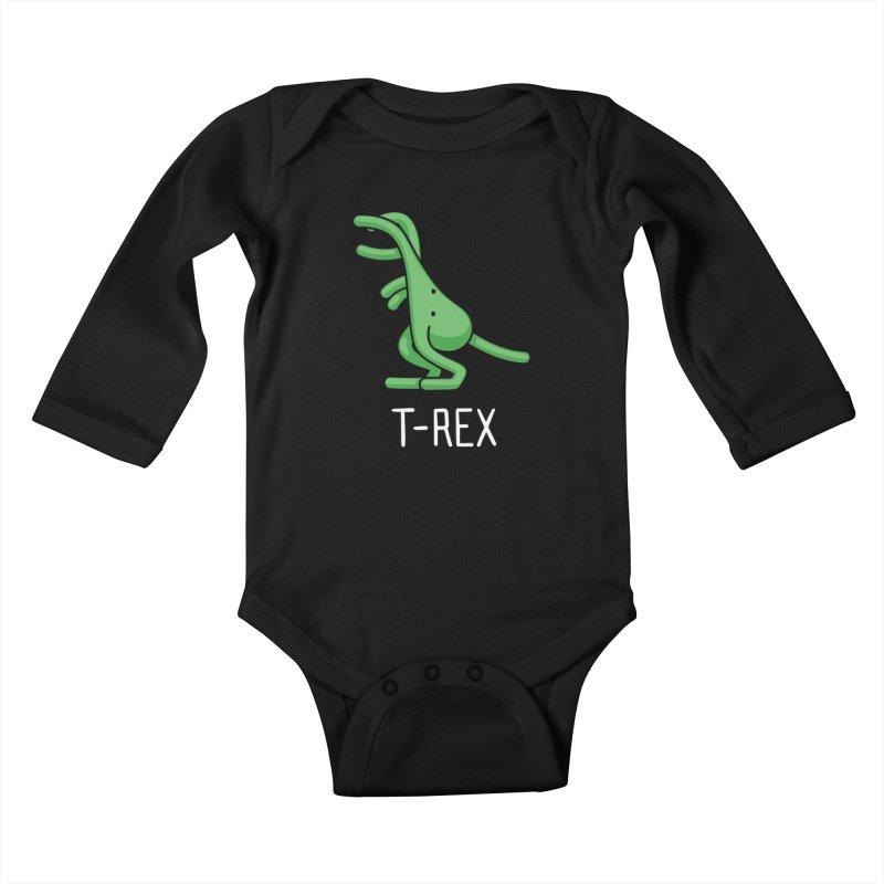 T-Rex (Not an Octopus) Kids Baby Longsleeve Bodysuit by Gyledesigns' Artist Shop