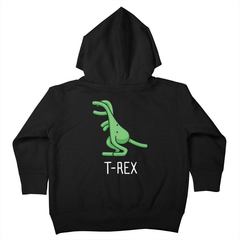 T-Rex (Not an Octopus) Kids Toddler Zip-Up Hoody by Gyledesigns' Artist Shop