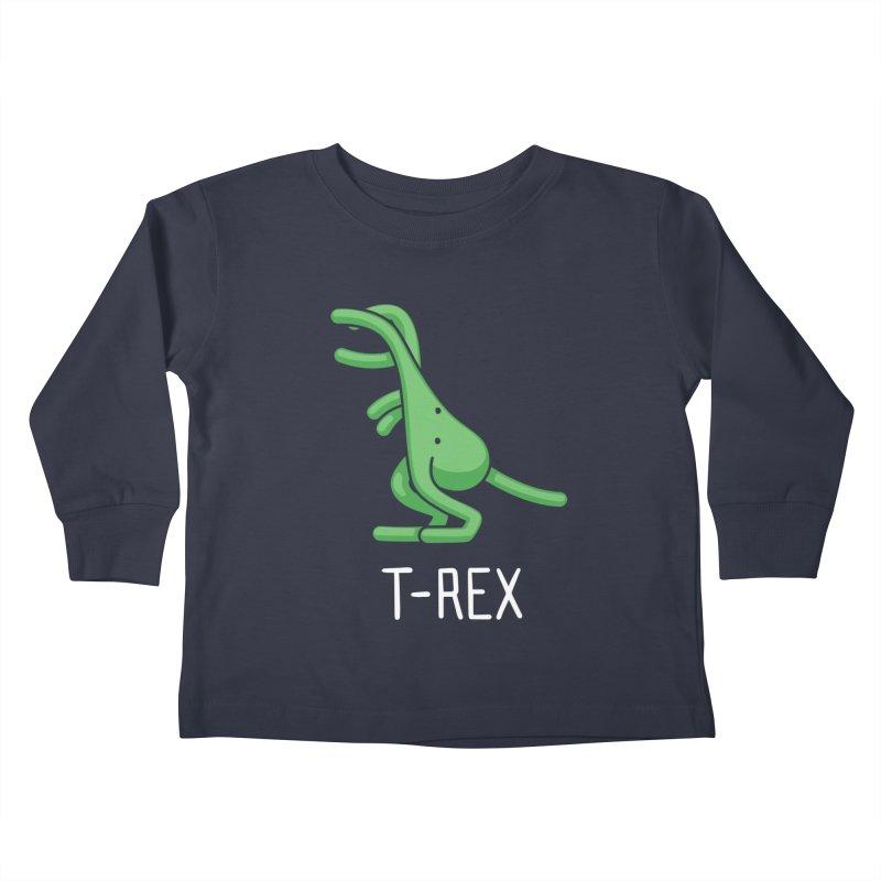 T-Rex (Not an Octopus) Kids Toddler Longsleeve T-Shirt by Gyledesigns' Artist Shop