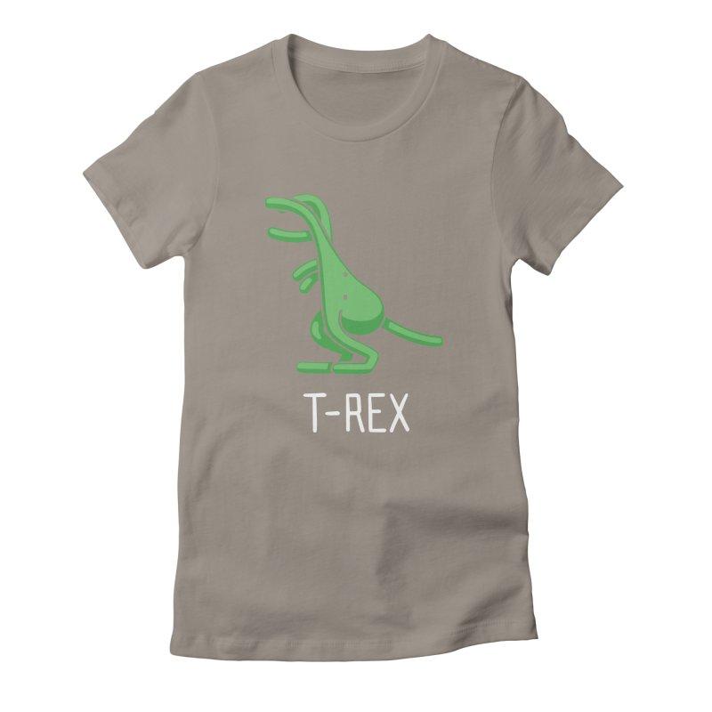 T-Rex (Not an Octopus) Women's Fitted T-Shirt by Gyledesigns' Artist Shop