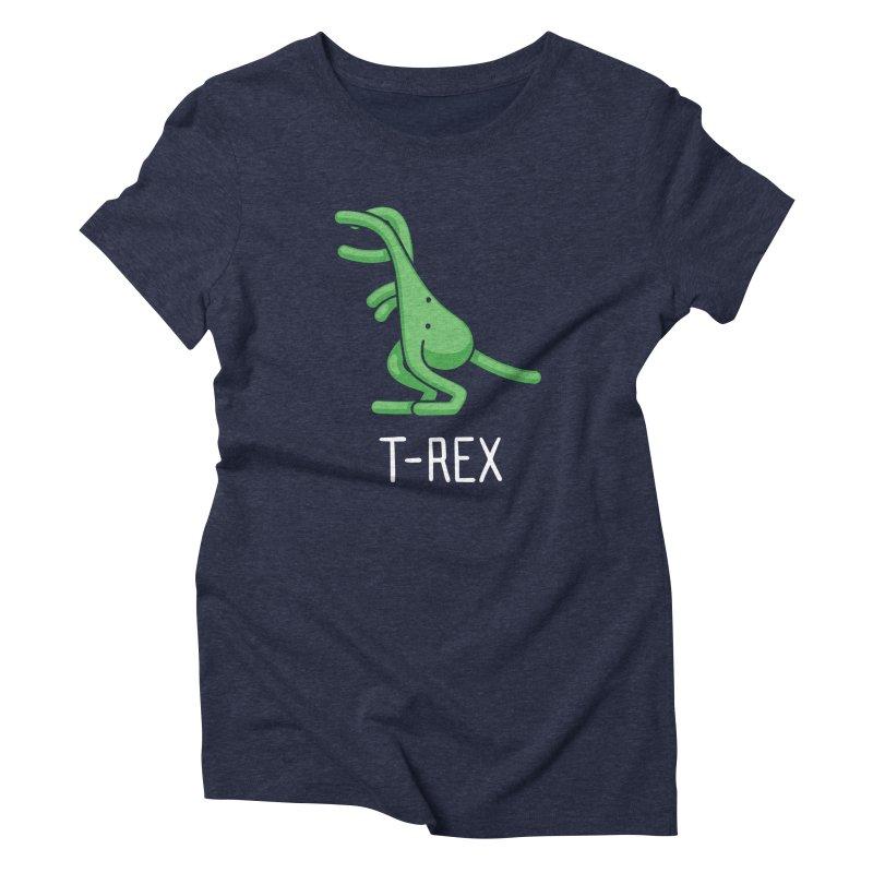 T-Rex (Not an Octopus) Women's Triblend T-shirt by Gyledesigns' Artist Shop