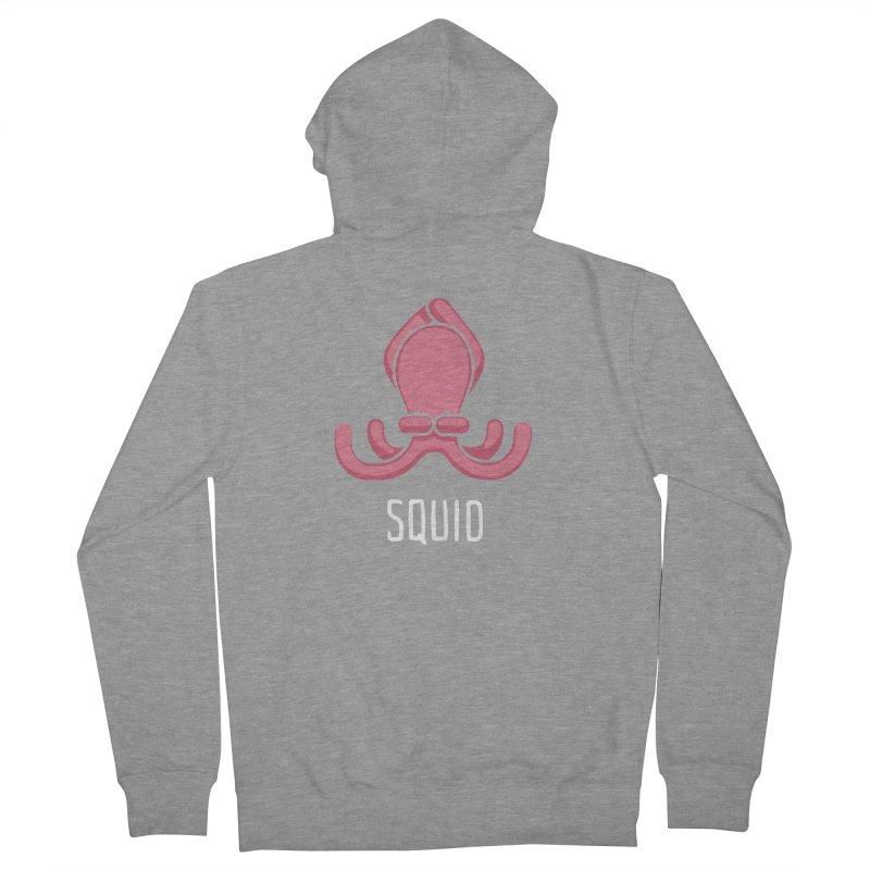 Squid (Not an Octopus) Women's Zip-Up Hoody by Gyledesigns' Artist Shop