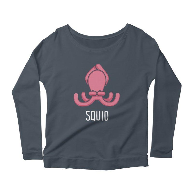 Squid (Not an Octopus) Women's Longsleeve Scoopneck  by Gyledesigns' Artist Shop
