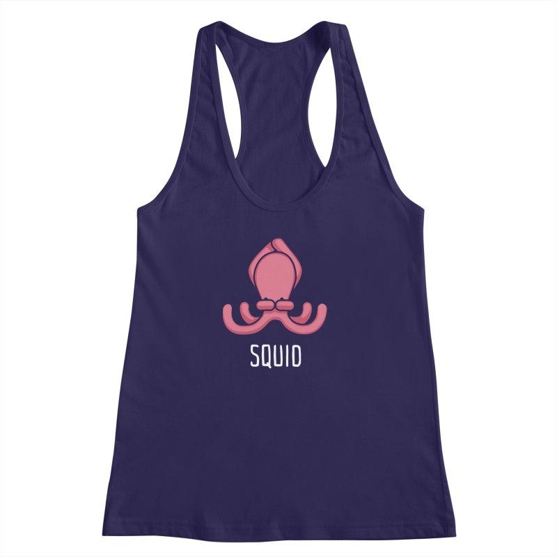 Squid (Not an Octopus) Women's Racerback Tank by Gyledesigns' Artist Shop
