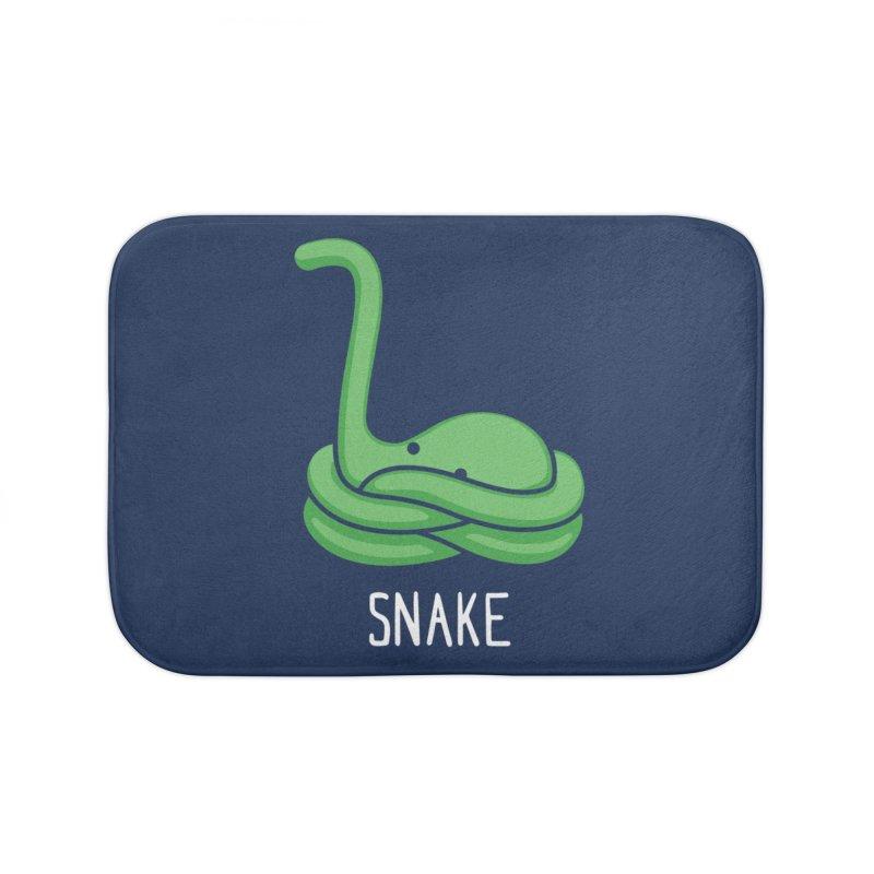 Snake (Not an Octopus) Home Bath Mat by Gyledesigns' Artist Shop