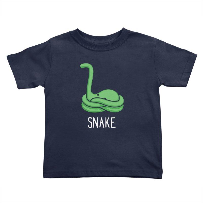 Snake (Not an Octopus) Kids Toddler T-Shirt by Gyledesigns' Artist Shop