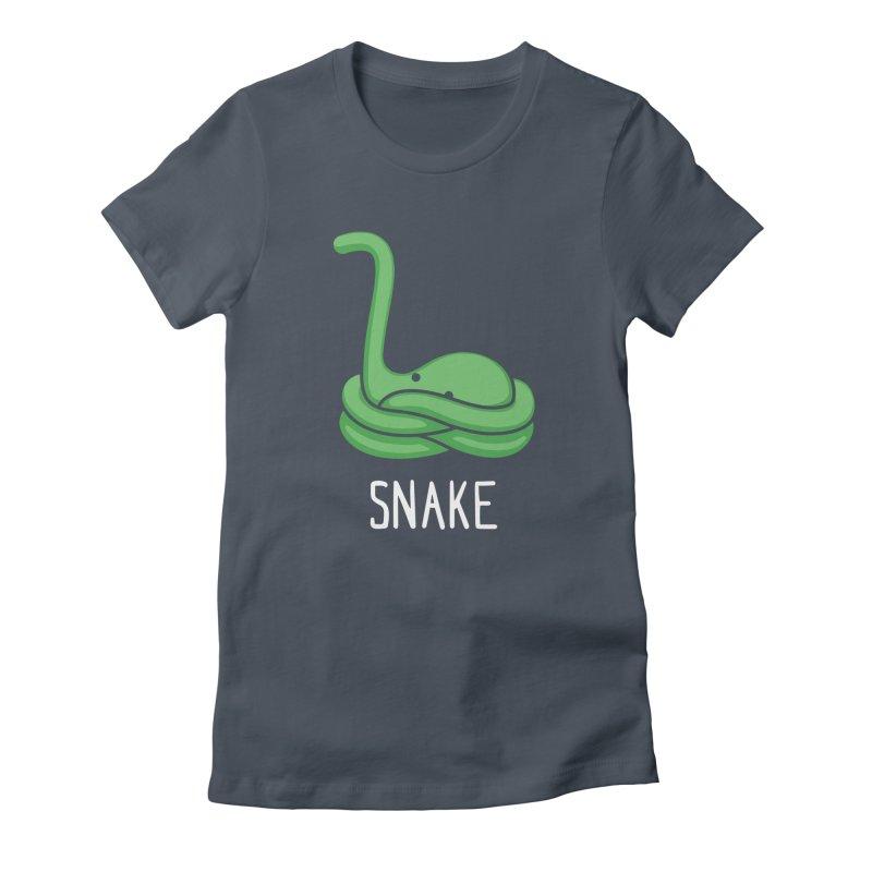 Snake (Not an Octopus) Women's Fitted T-Shirt by Gyledesigns' Artist Shop