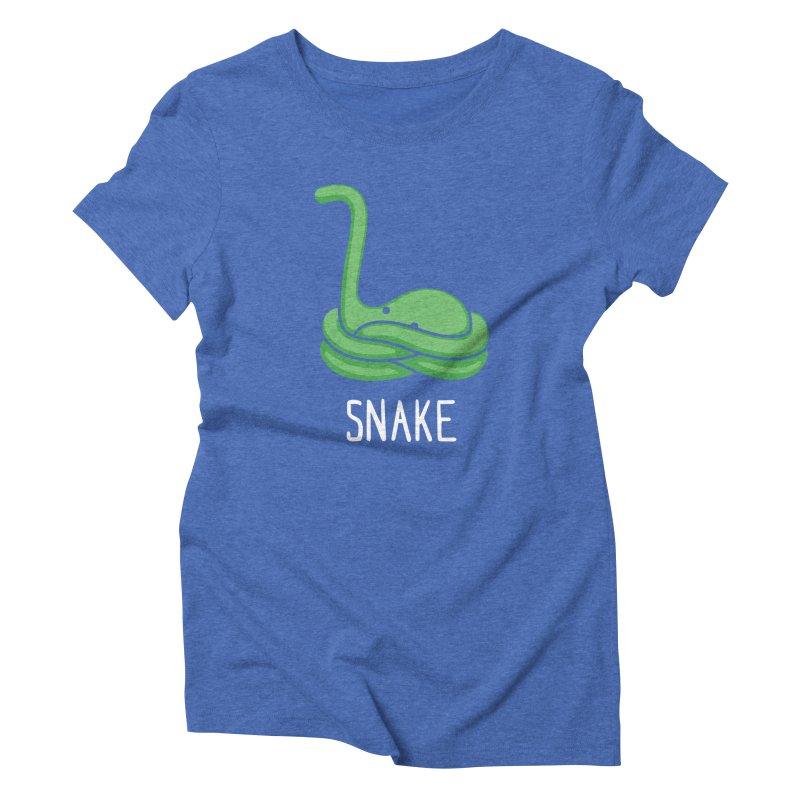Snake (Not an Octopus) Women's Triblend T-shirt by Gyledesigns' Artist Shop