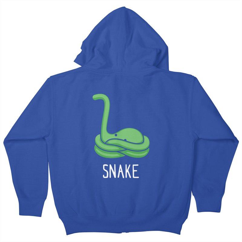Snake (Not an Octopus) Kids Zip-Up Hoody by Gyledesigns' Artist Shop