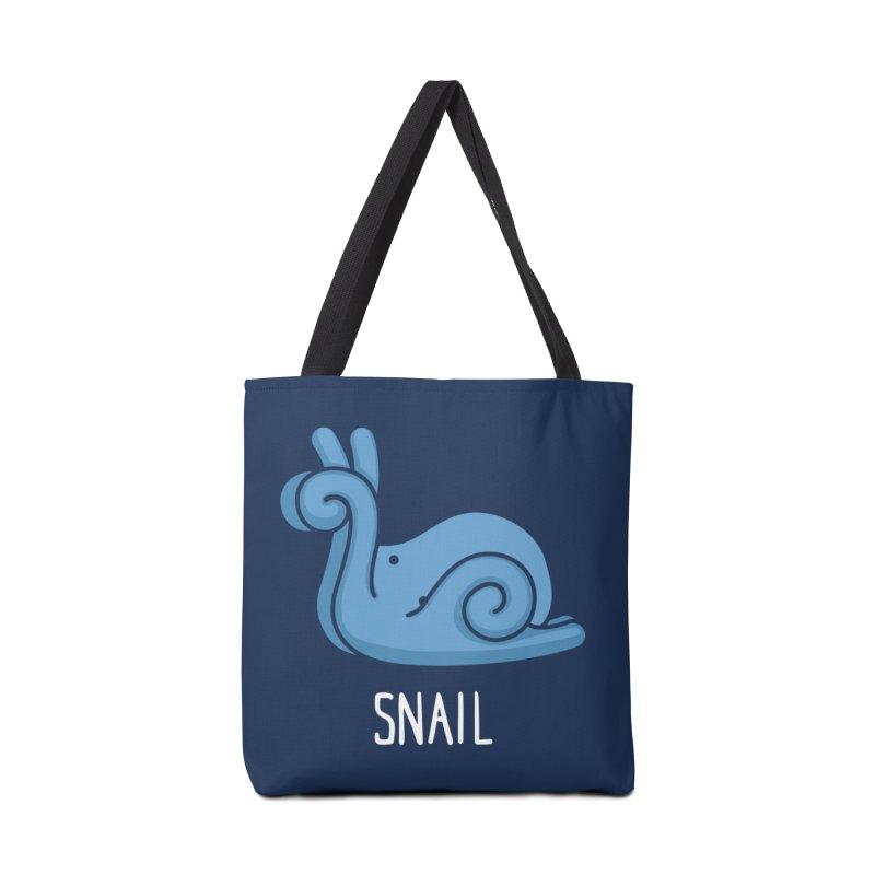 Snail (Not an Octopus) Accessories Bag by Gyledesigns' Artist Shop