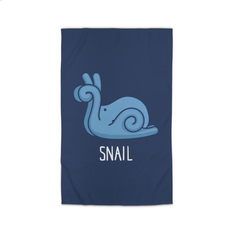 Snail (Not an Octopus) Home Rug by Gyledesigns' Artist Shop